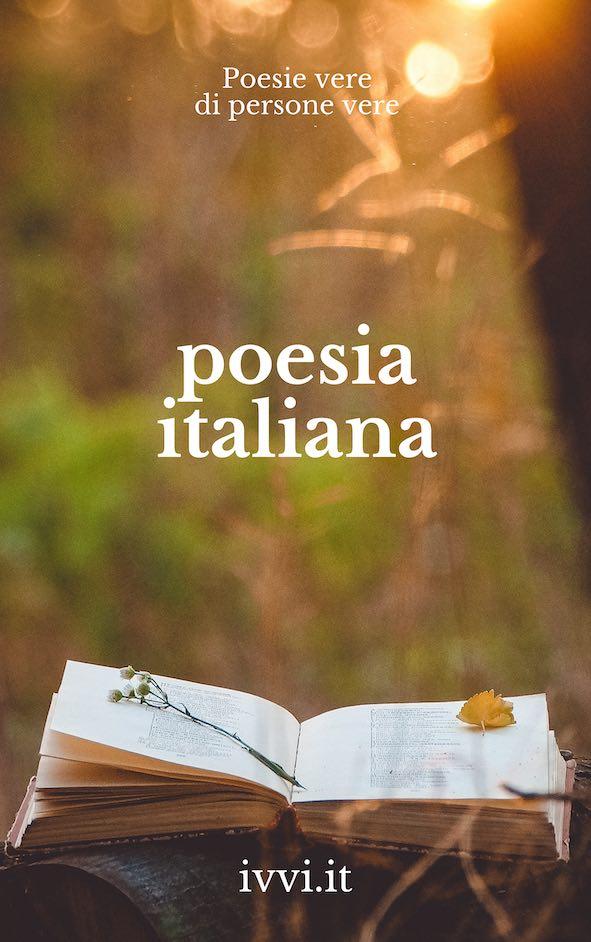 Copertina del libro Poesia Italiana